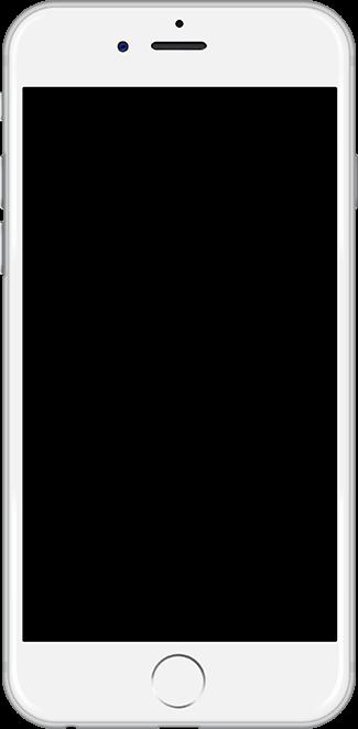 ekranı boş cep telefonu